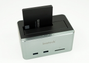 Festplatten-Dockingstation mit USB 3.0 Hub + SD-Card-Reader im Test Thumbnail