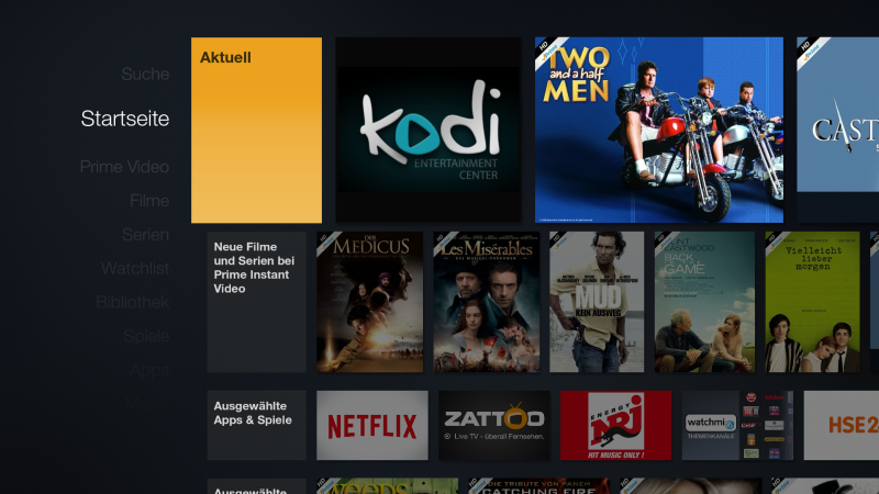 Amazon FireTV - Kodi per Sideload ohne Root installieren (Update)