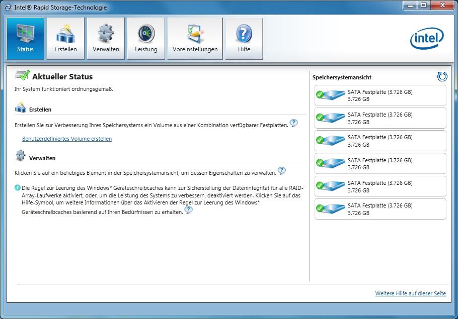 6 Bay Eigenbau Nas Mit Windows 7 8 Home Server Und Intel