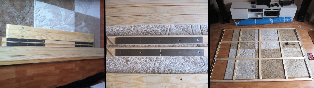 Heimkino leinwand selber bauen cool mit maskierung an der leinwand with heimkino leinwand - Leinwand selber bauen anleitung ...