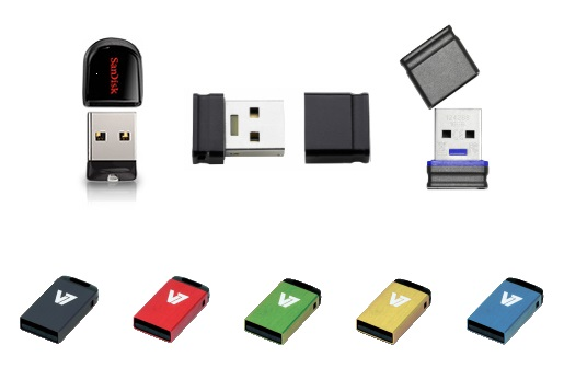 micro mini nano usb sticks im test. Black Bedroom Furniture Sets. Home Design Ideas