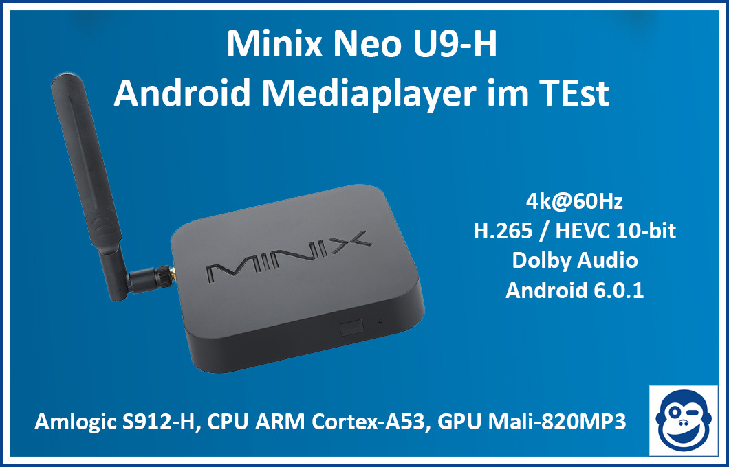 Android Mediaplayer Minix Neo U9-H im Test