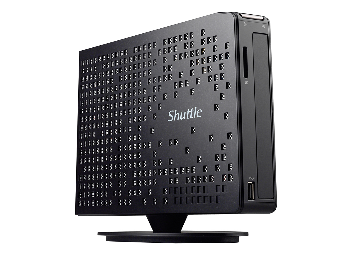 Passiver Slim PC Shuttle XS35V4 im Test unter Windows 8