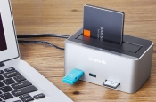 Festplatten-Dockingstation mit USB 3.0 Hub + SD-Card-Reader im Test