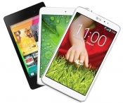 LG G Pad 8.3 vs. ASUS Nexus 7 vs. Apple iPad Mini Retina