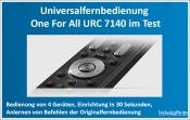 One For All URC 7140 im Test