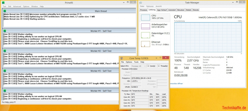 ASRock N3150-ITX im Test - 14nm Braswell vs. 22nm Bay-Trail