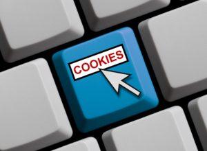 cookie-taste auf der tastatur