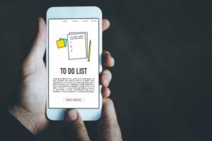 app einer to-do-liste