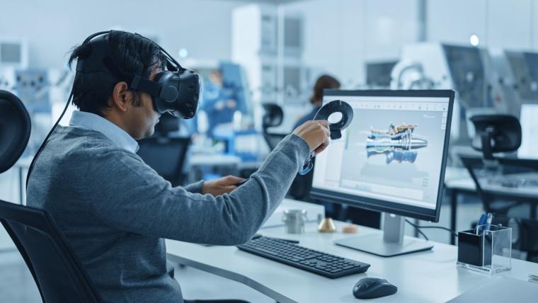 Die künstliche Intelligenz beeinflusst auch zunehmend unsere Arbeitswelt und verändert die Interaktion zw. Mensch und Produkt.