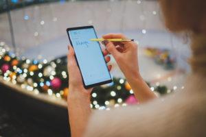 Samsung Galaxy Note schreiben
